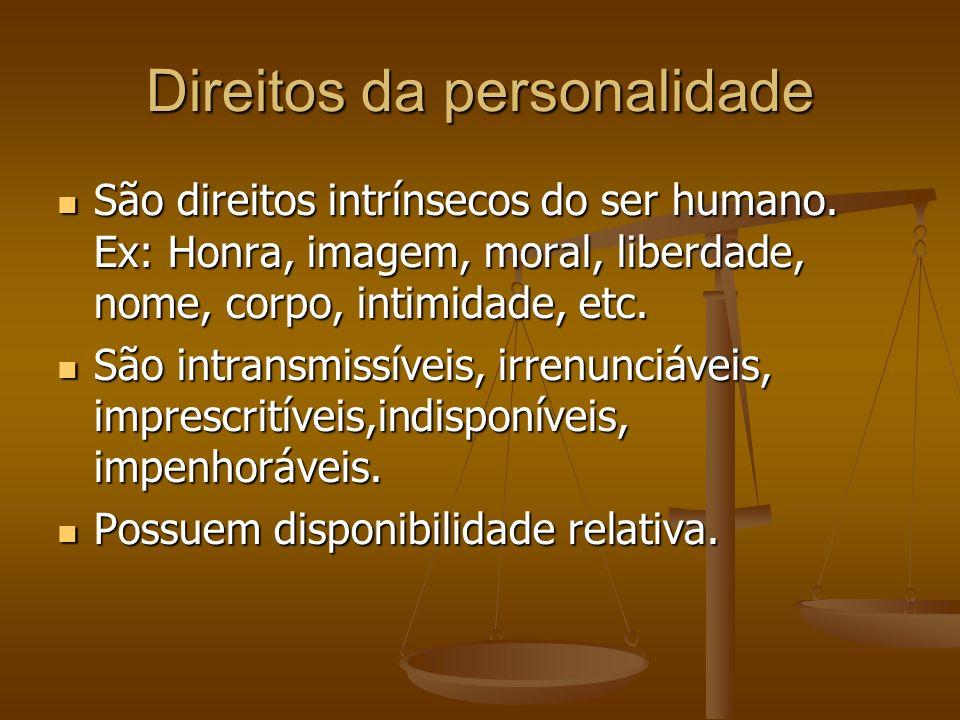 Direitos da personalidade