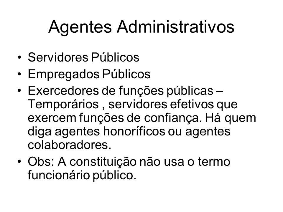 Agentes Administrativos