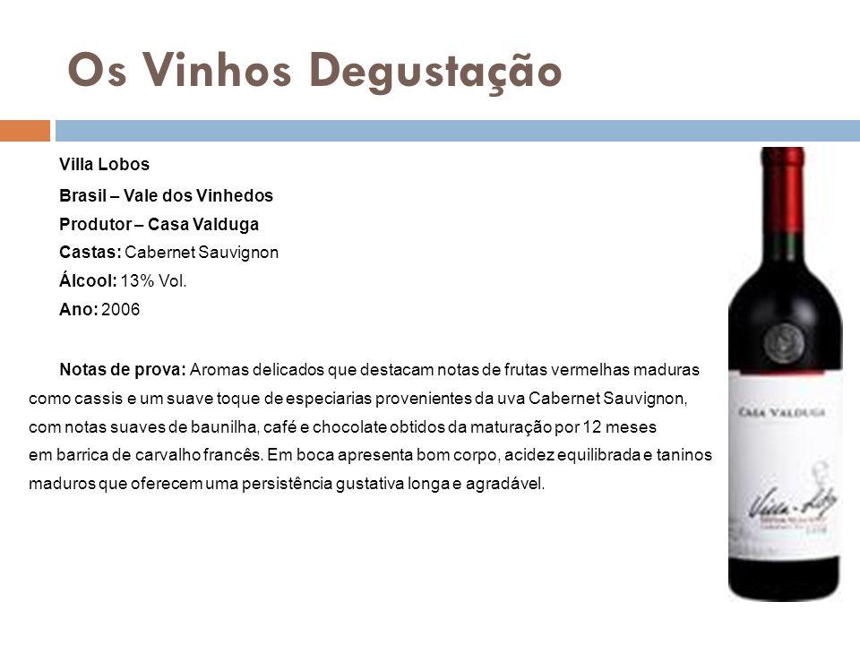 Os Vinhos Degustação Villa Lobos Brasil – Vale dos Vinhedos