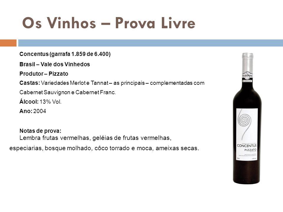 Os Vinhos – Prova Livre Concentus (garrafa 1.859 de 6.400)