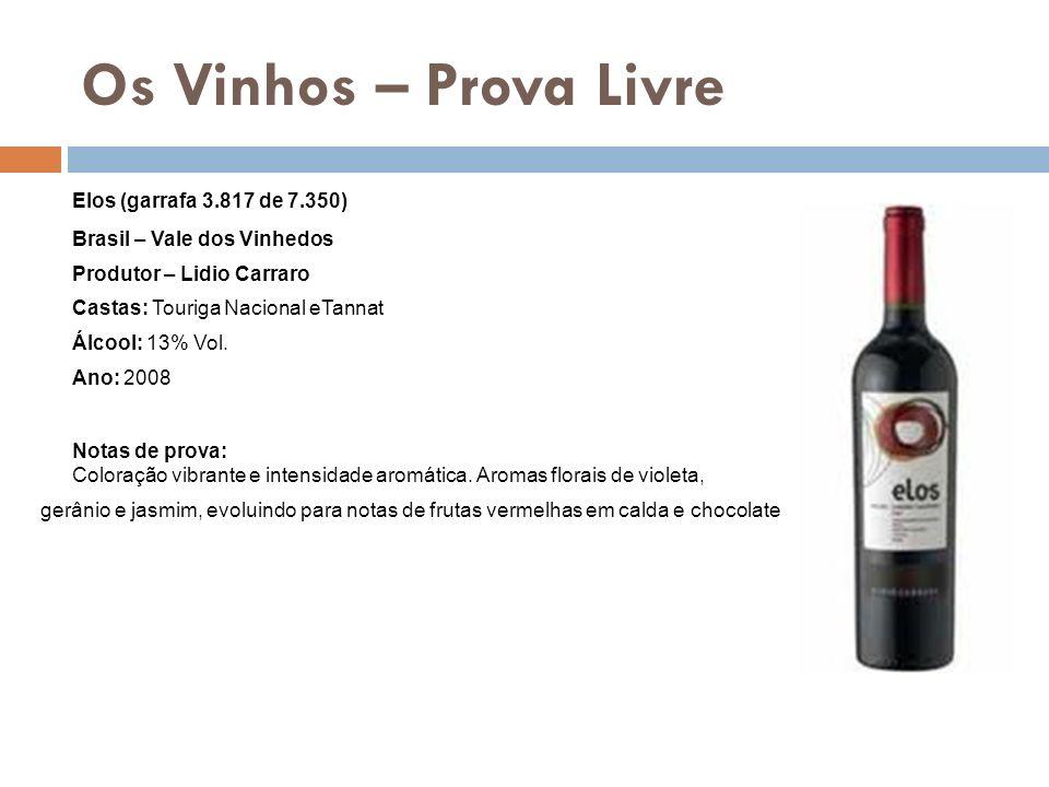 Os Vinhos – Prova Livre Elos (garrafa 3.817 de 7.350)