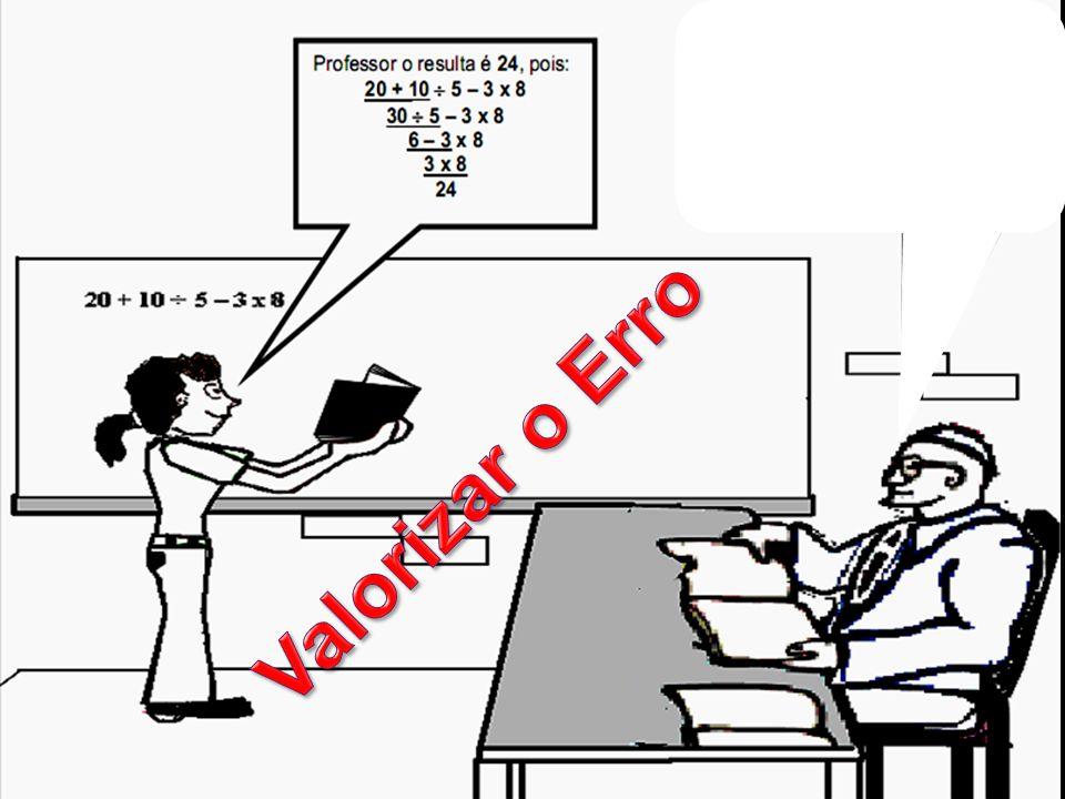 Valorizar o Erro
