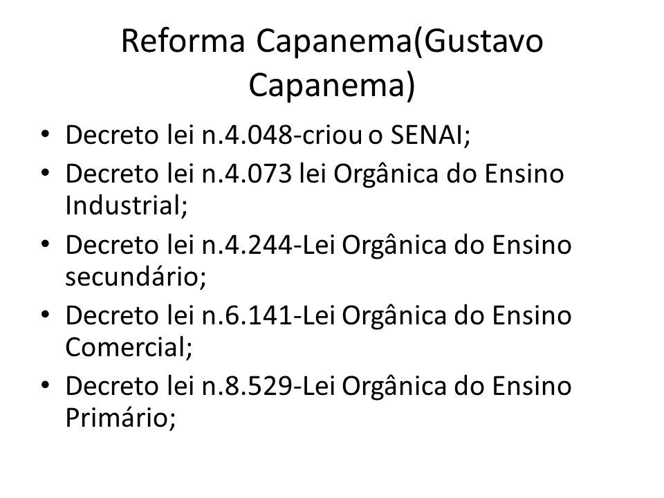 Reforma Capanema(Gustavo Capanema)