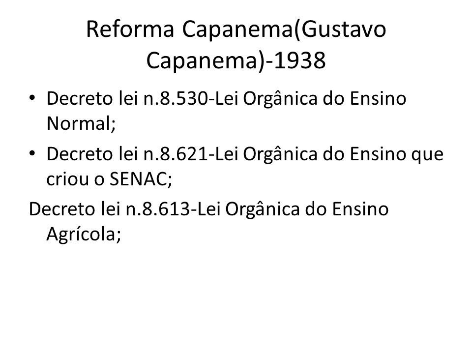 Reforma Capanema(Gustavo Capanema)-1938