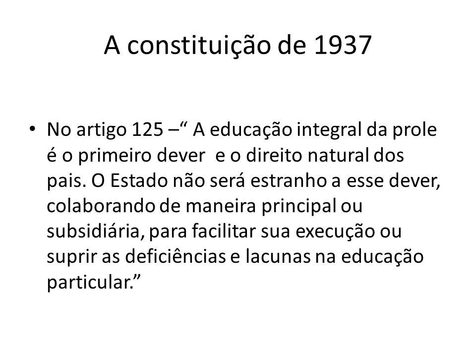 A constituição de 1937