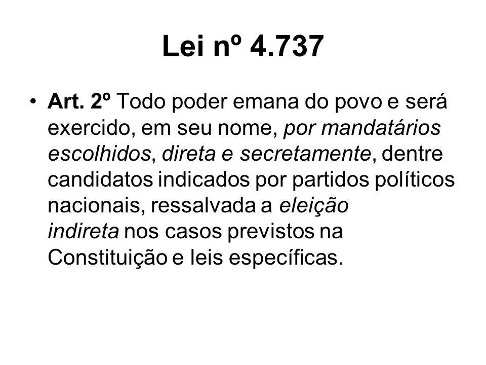 Lei nº 4.737