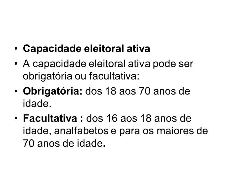 Capacidade eleitoral ativa