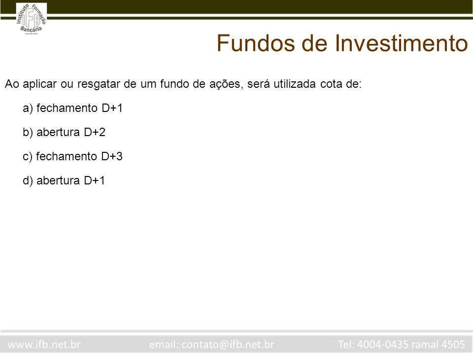 Fundos de Investimento