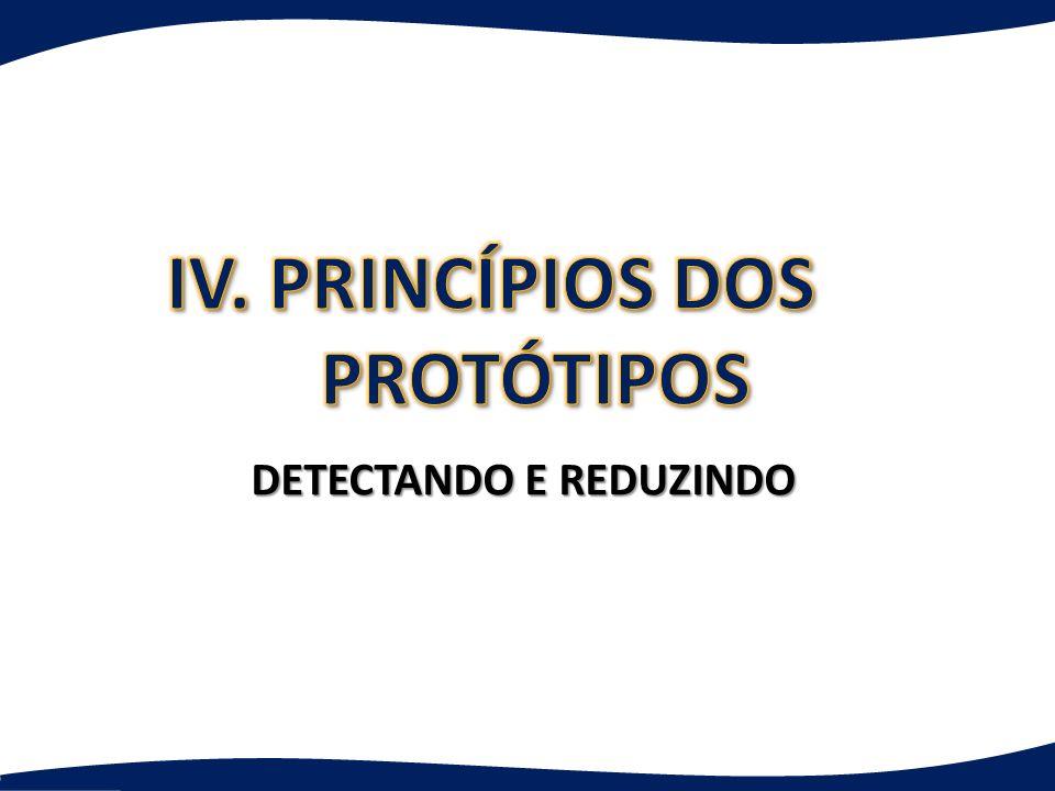 IV. PRINCÍPIOS DOS PROTÓTIPOS