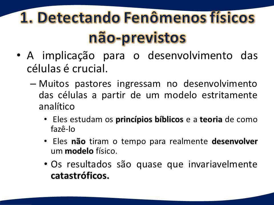 1. Detectando Fenômenos físicos não-previstos