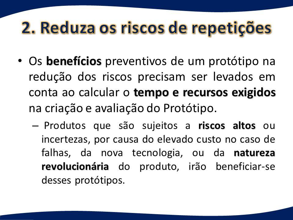 2. Reduza os riscos de repetições