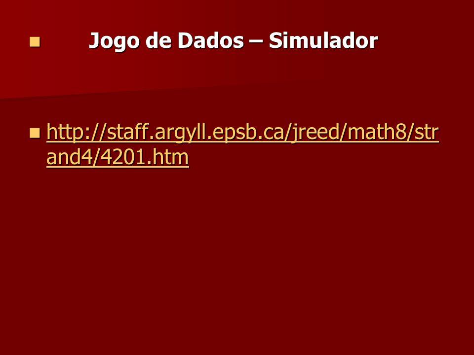 Jogo de Dados – Simulador