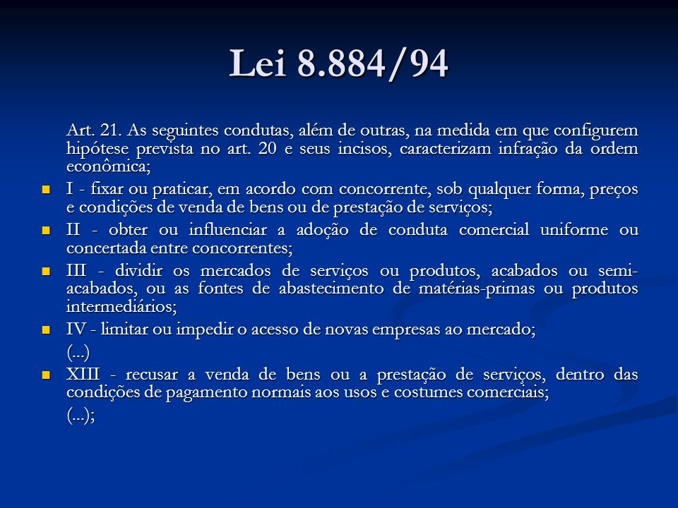 Lei 8.884/94