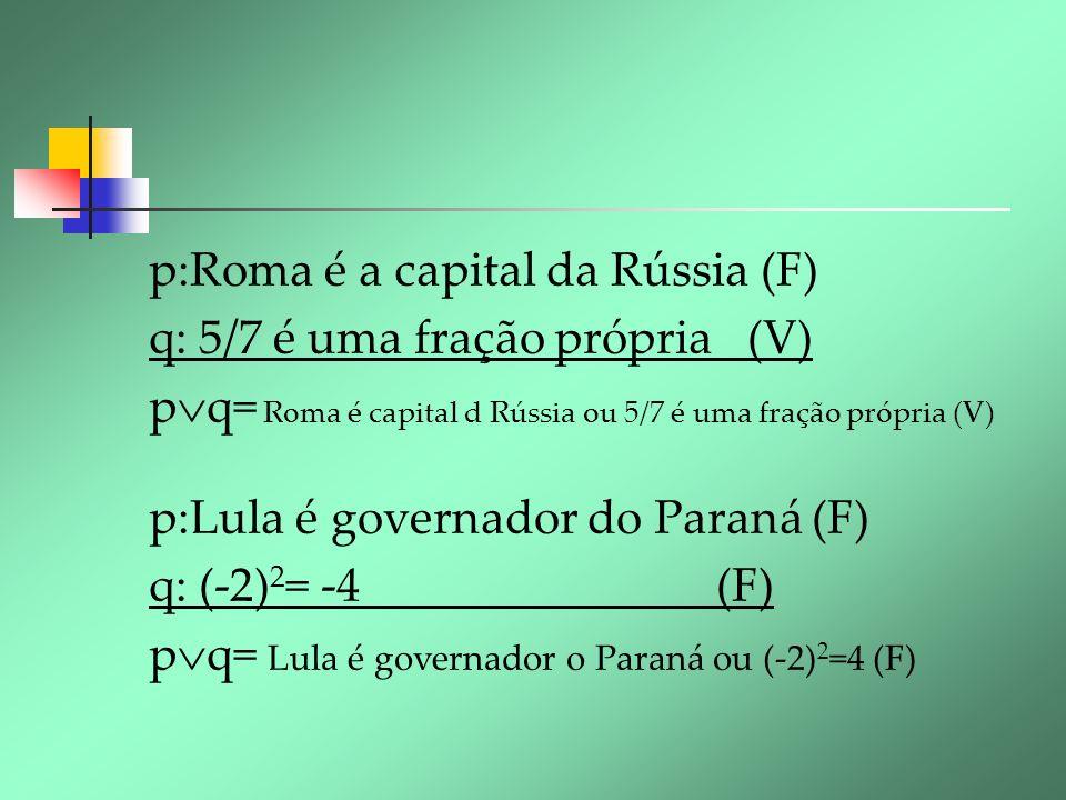 p:Roma é a capital da Rússia (F)