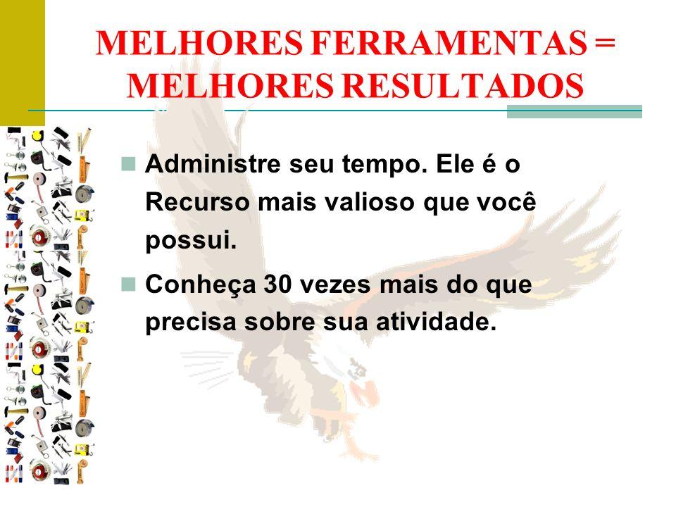 MELHORES FERRAMENTAS = MELHORES RESULTADOS