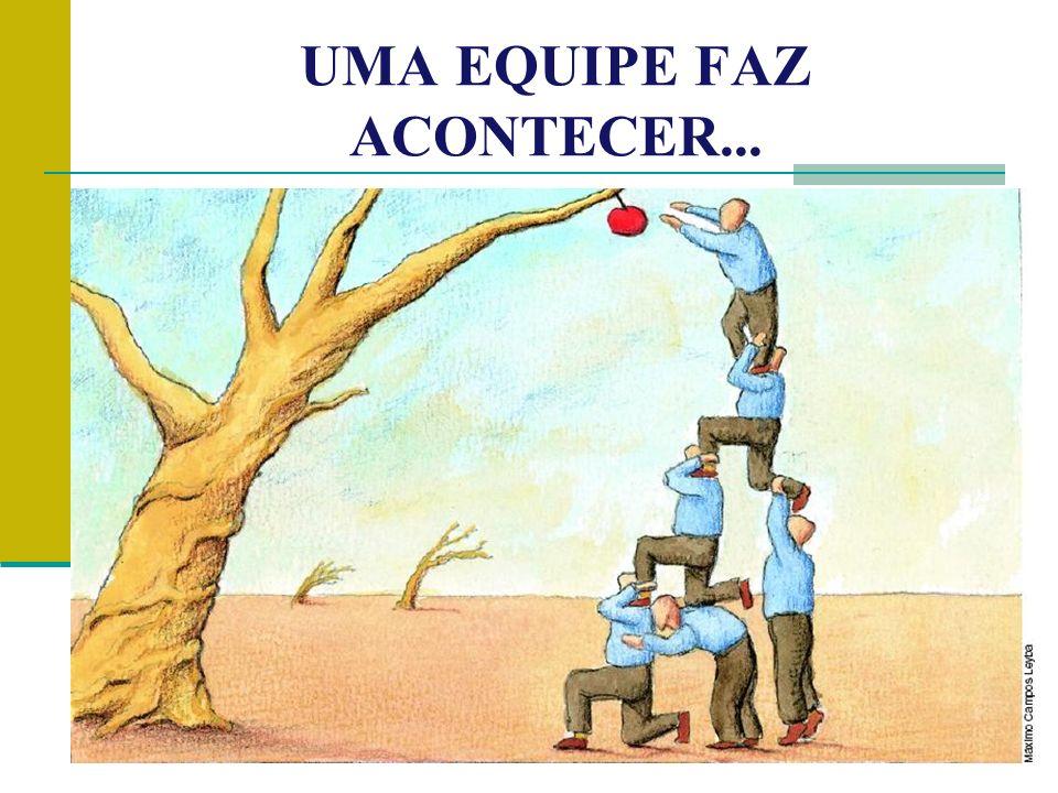 UMA EQUIPE FAZ ACONTECER...