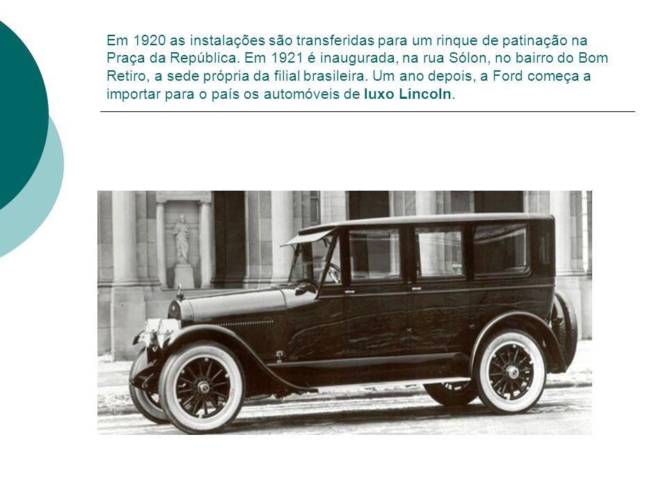Em 1920 as instalações são transferidas para um rinque de patinação na Praça da República.