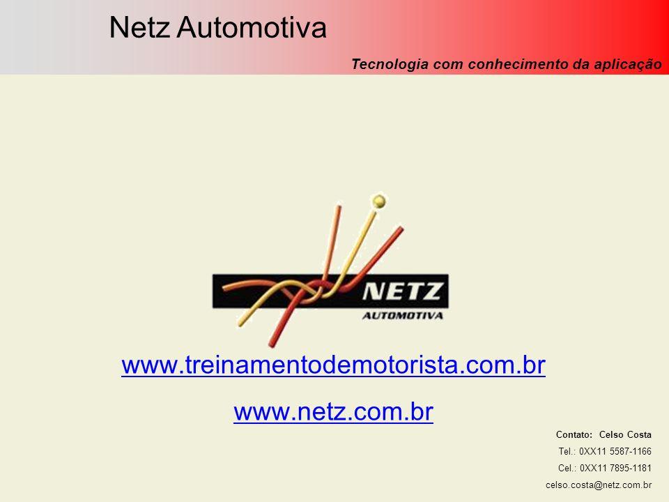 Netz Automotiva www.treinamentodemotorista.com.br www.netz.com.br