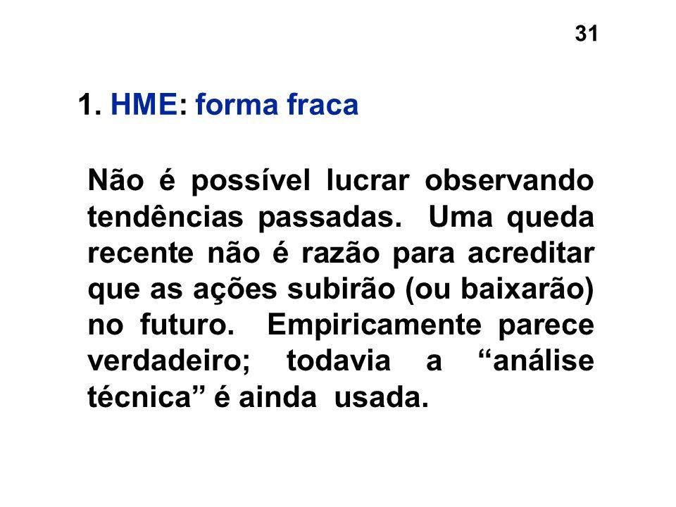 1. HME: forma fraca