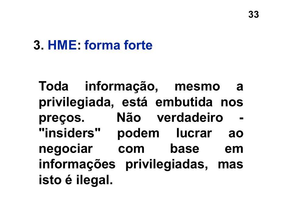 3. HME: forma forte