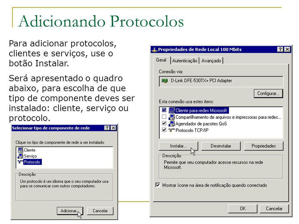 Adicionando Protocolos