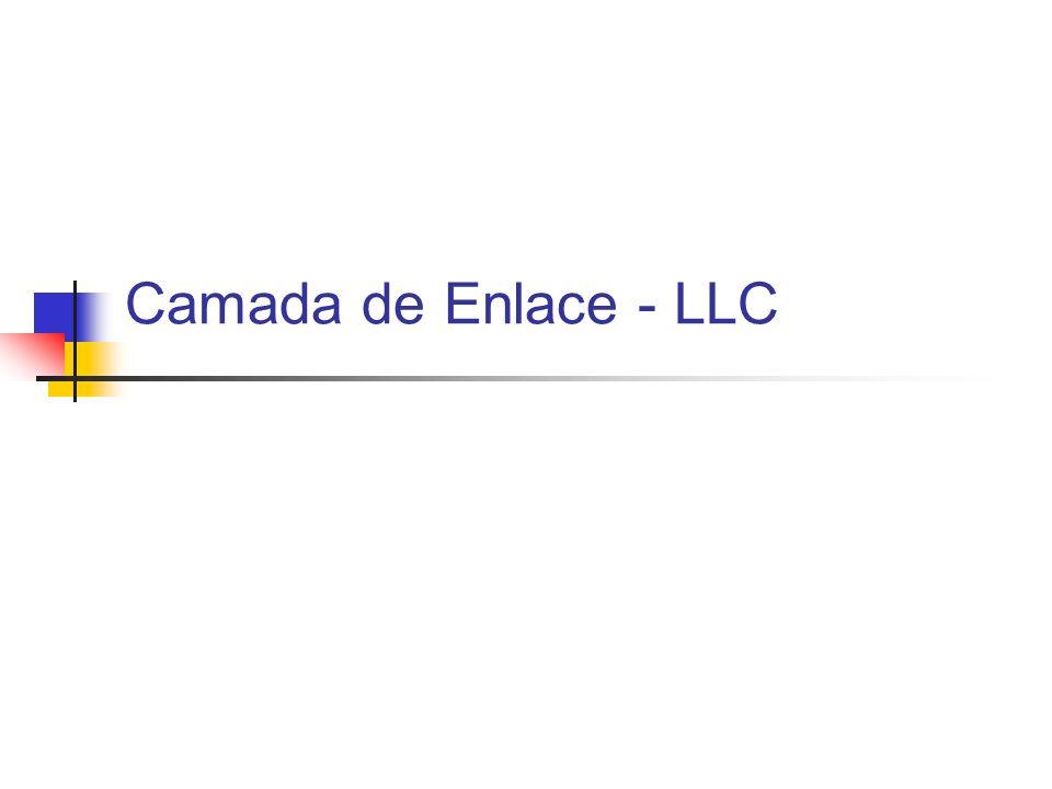 Camada de Enlace - LLC