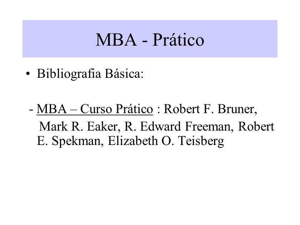 MBA - Prático Bibliografia Básica: