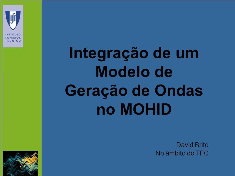 Integração de um Modelo de Geração de Ondas no MOHID
