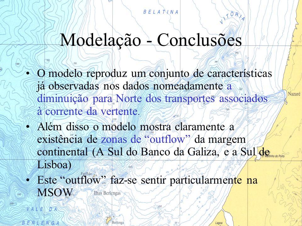 Modelação - Conclusões