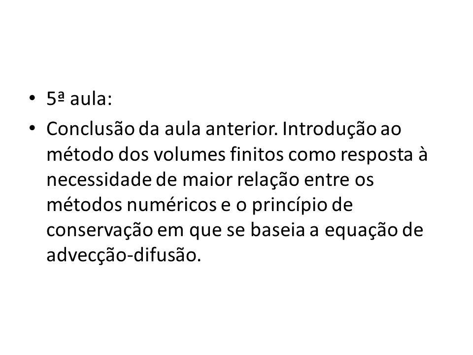 5ª aula:
