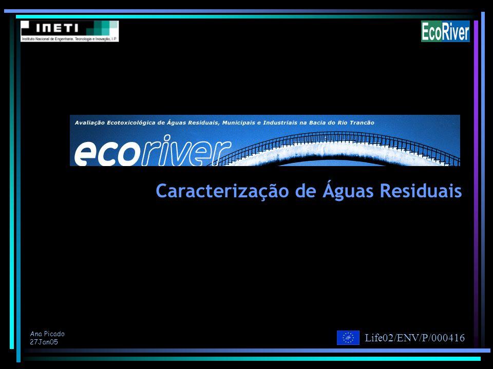 Caracterização de Águas Residuais