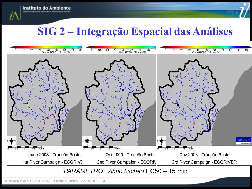 SIG 2 – Integração Espacial das Análises