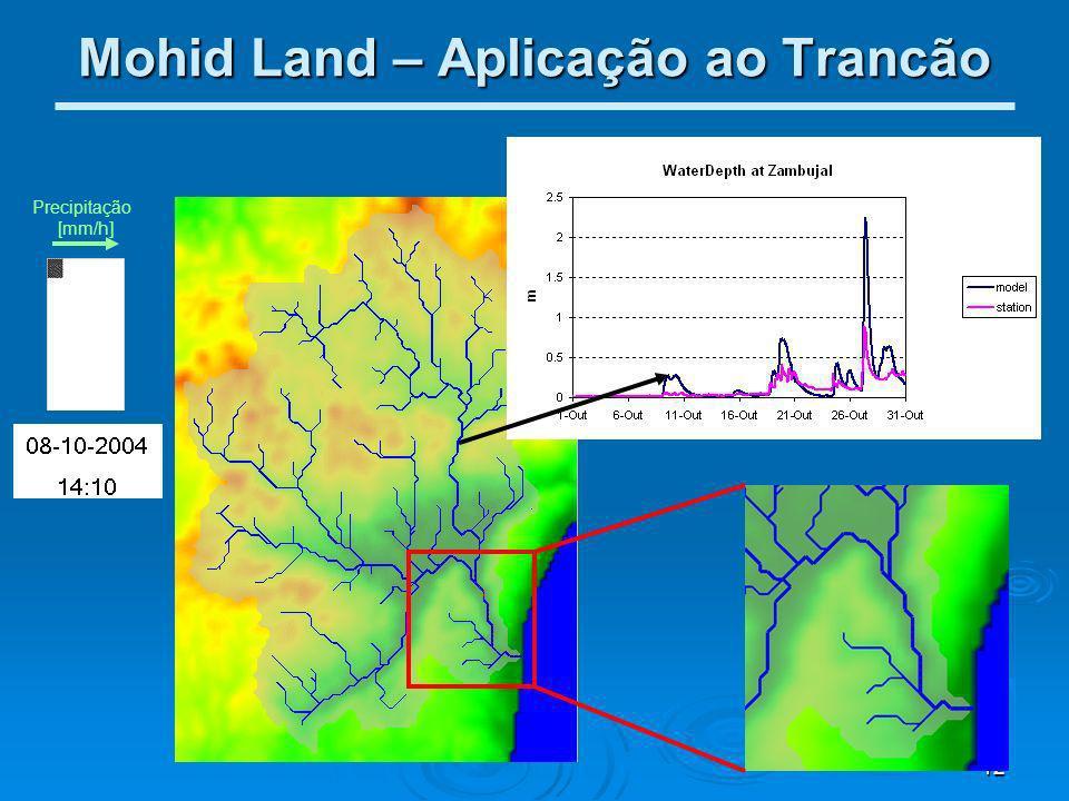 Mohid Land – Aplicação ao Trancão