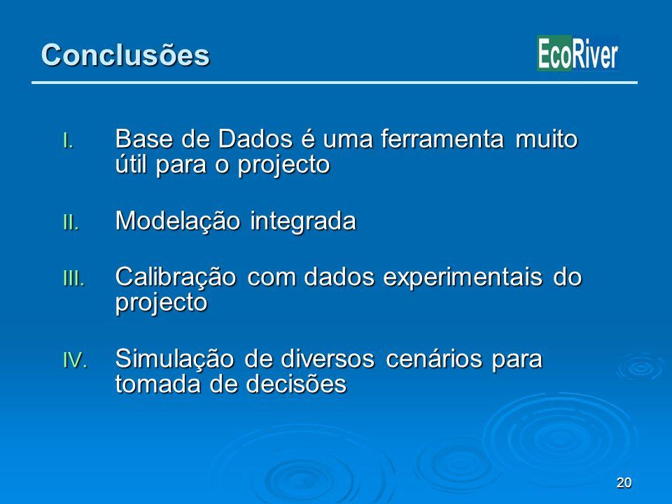Conclusões Base de Dados é uma ferramenta muito útil para o projecto