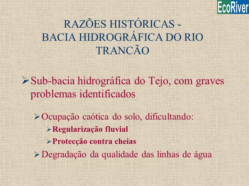 RAZÕES HISTÓRICAS - BACIA HIDROGRÁFICA DO RIO TRANCÃO
