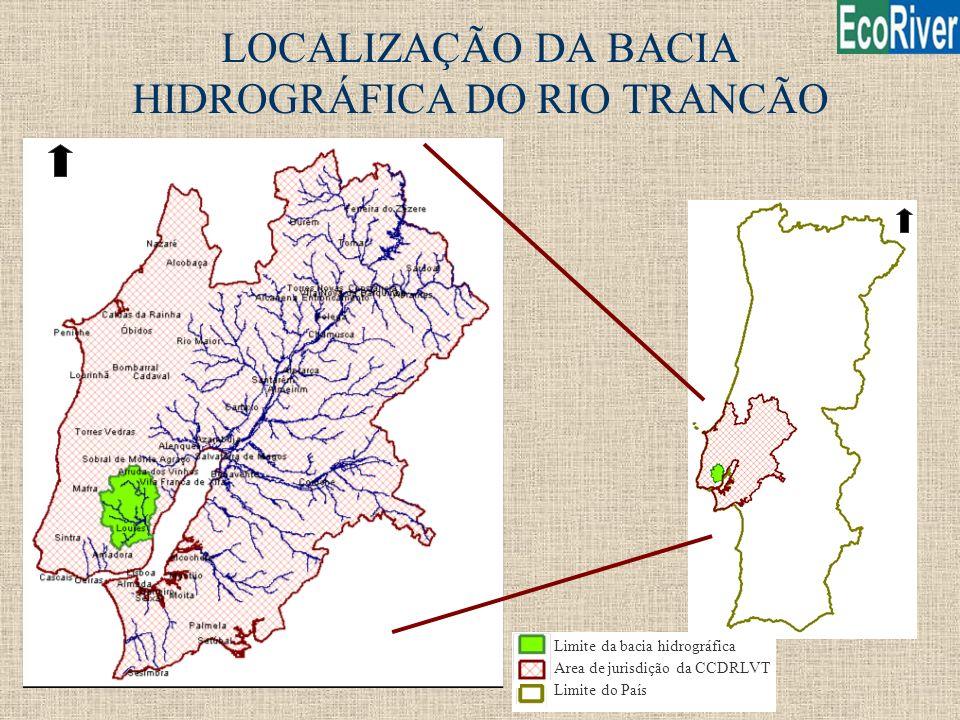 LOCALIZAÇÃO DA BACIA HIDROGRÁFICA DO RIO TRANCÃO