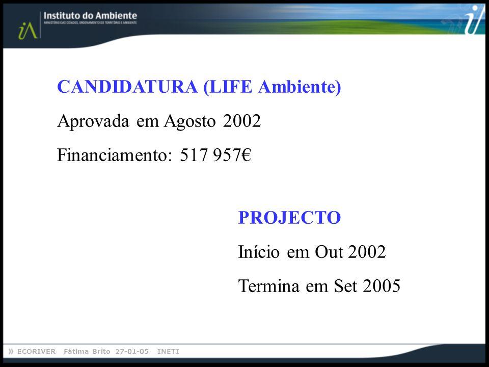 CANDIDATURA (LIFE Ambiente)