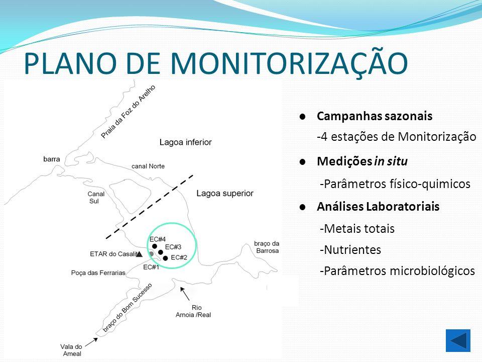 PLANO DE MONITORIZAÇÃO