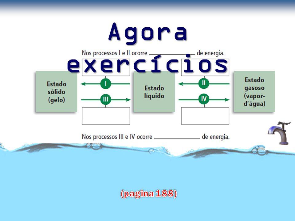 Agora exercícios (pagina 188)