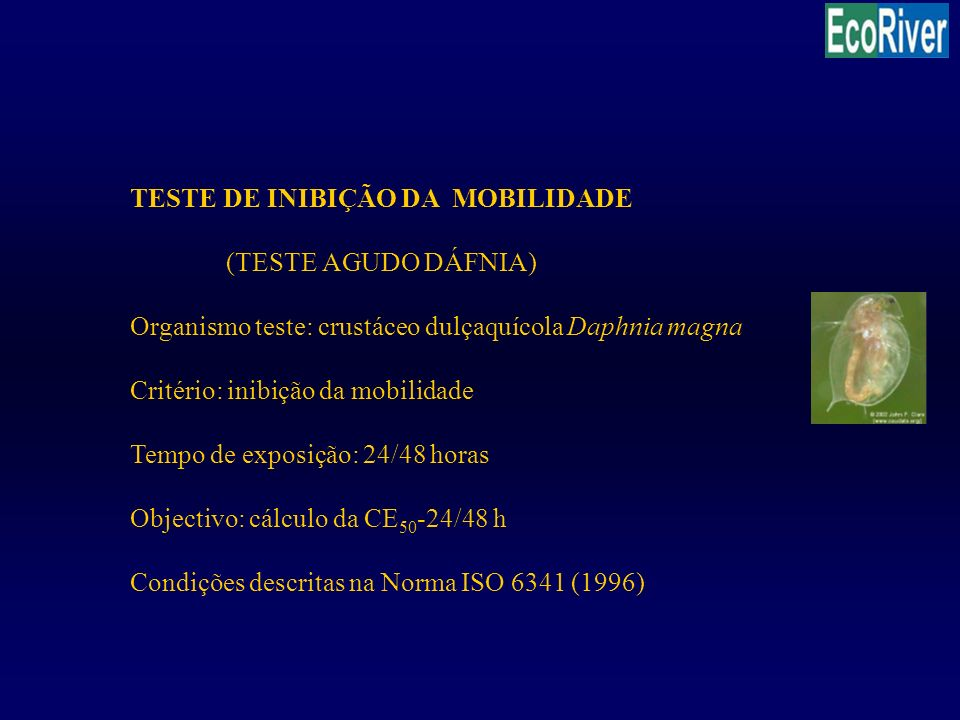 TESTE DE INIBIÇÃO DA MOBILIDADE