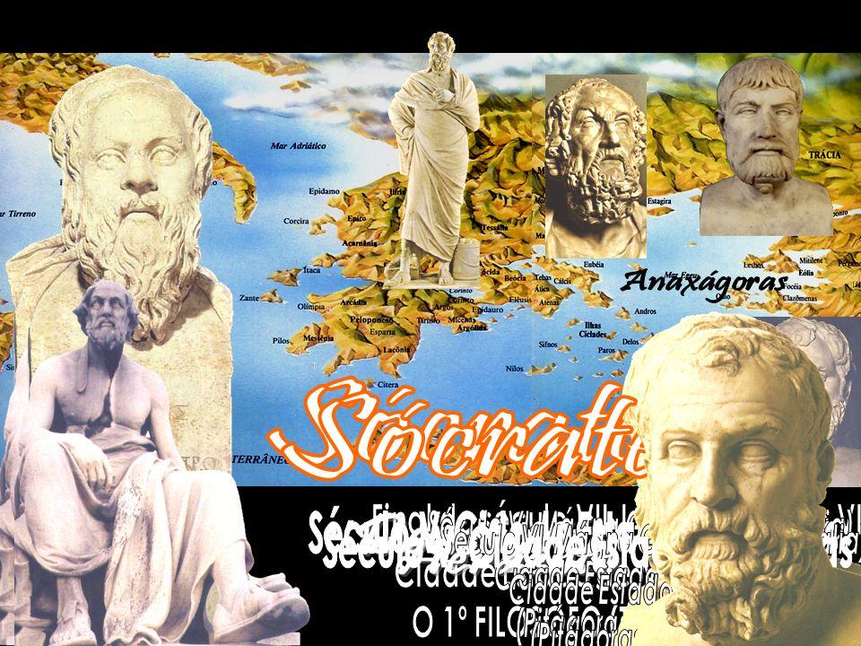 Sócrates Sócrates Anaxágoras Demócrito Heráclito