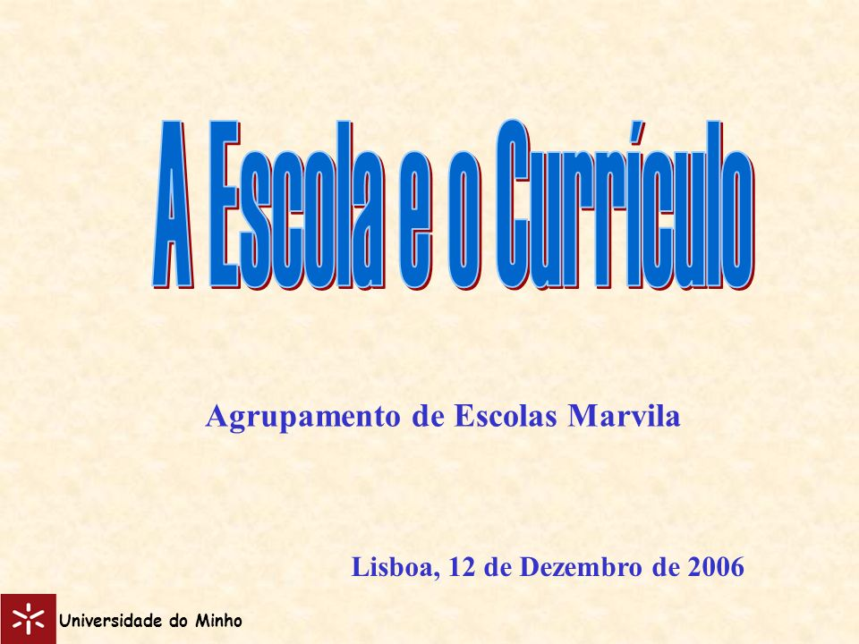 Agrupamento de Escolas Marvila