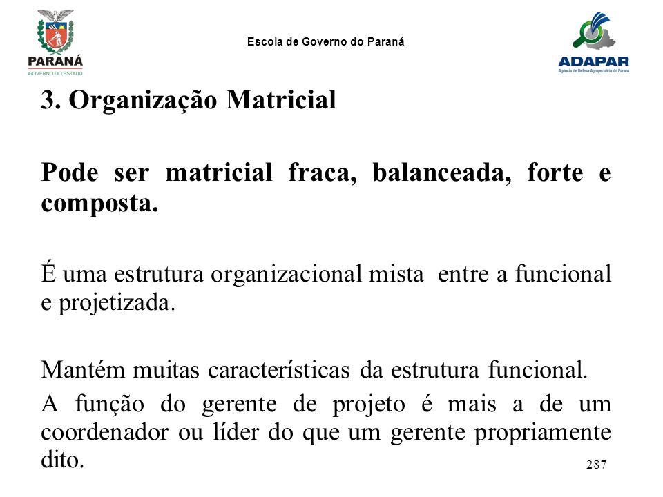 3. Organização Matricial