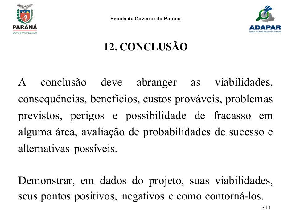 12. CONCLUSÃO