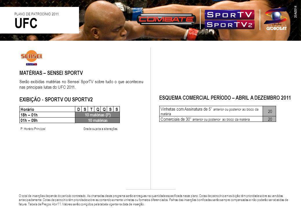 UFC MATÉRIAS – SENSEI SPORTV