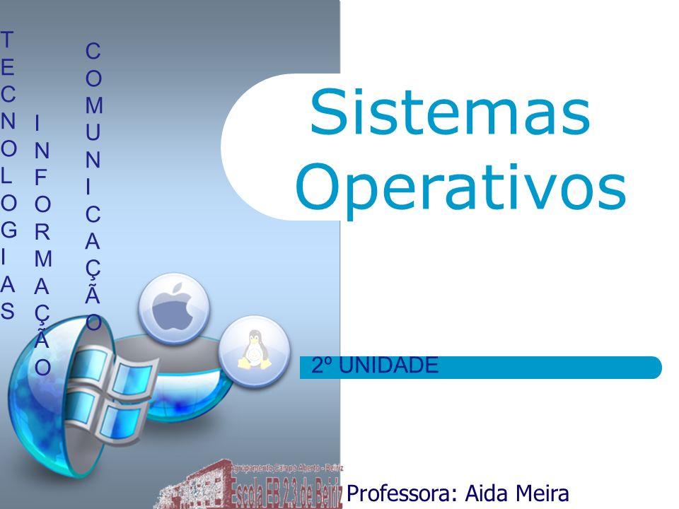 Sistemas Operativos T E C N O L G I A S C O M U N I A Ç Ã I N F O R M
