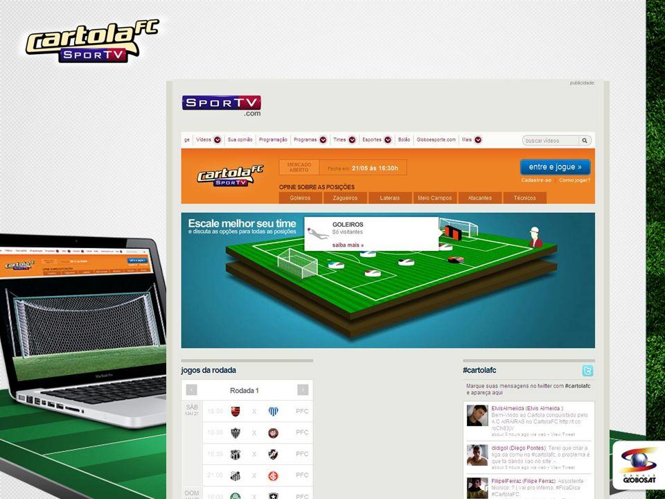 Vídeos de esportes e blogs dos comentaristas no site da Sportv