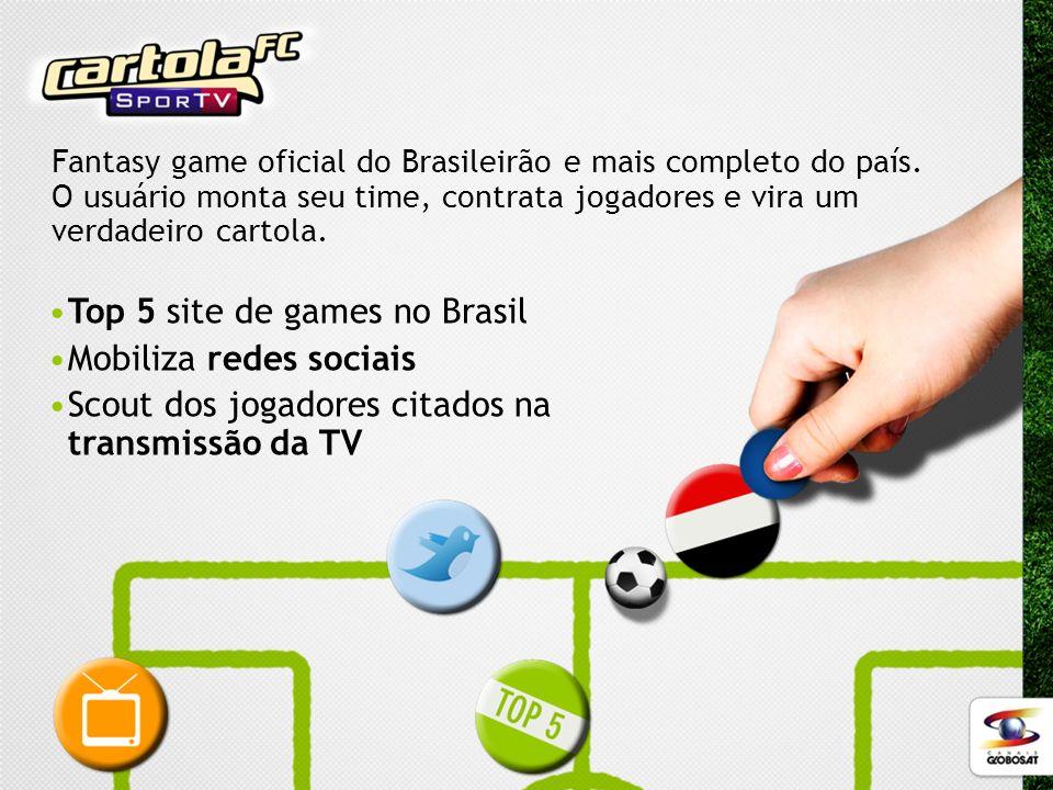 Top 5 site de games no Brasil Mobiliza redes sociais
