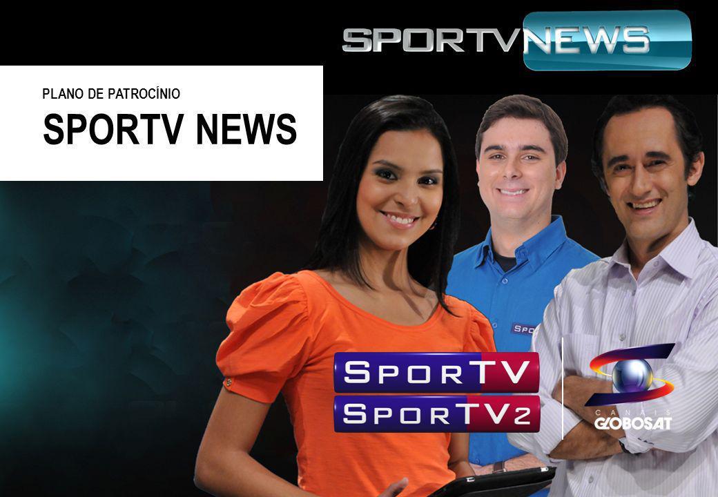 PLANO DE PATROCÍNIO SPORTV NEWS