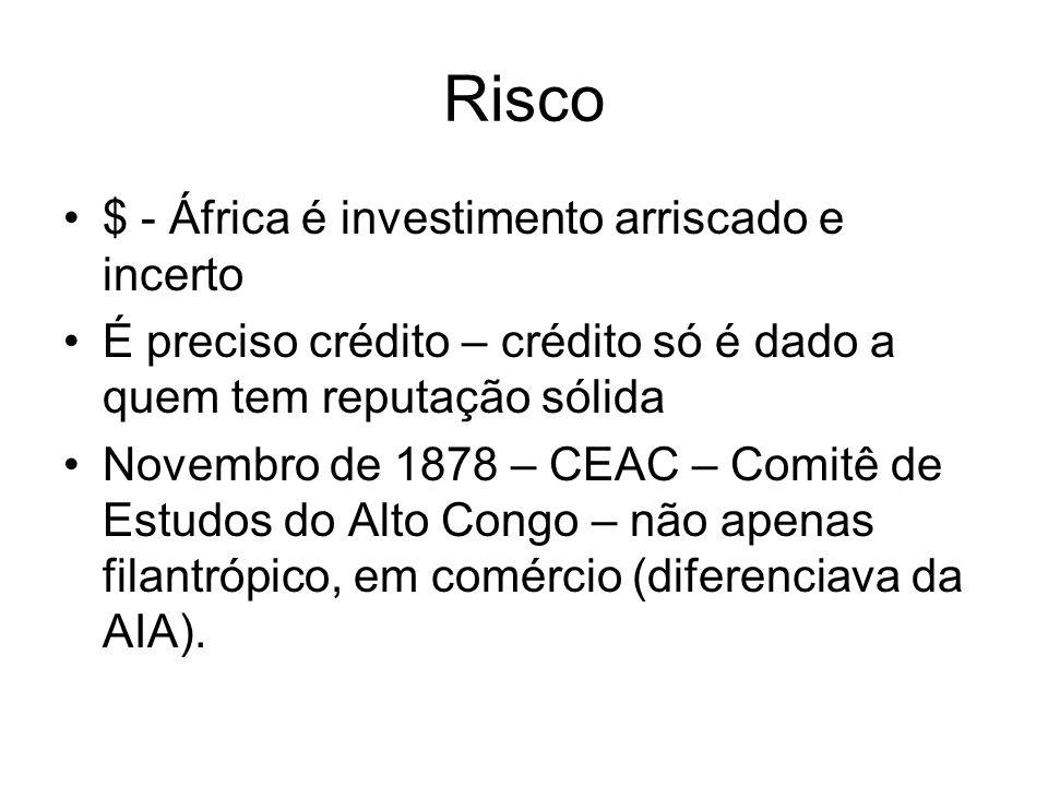 Risco $ - África é investimento arriscado e incerto